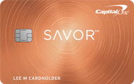 Capital One® Savor℠ Cash Rewards Credit Card